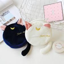 Милый плюшевый мешок для игрушек Сейлор Мун <b>Luna</b> Cat ...
