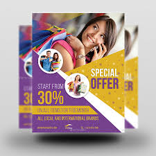 Special Offer Flyer Special Offer Products Flyer Template