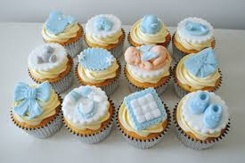 Baby Shower Cake Table Display Dessert For Boy Homemade Edible