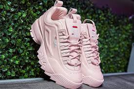 fila disruptor 2 pink. fila and barneys partner on luxe versions of disruptor ii sneaker drifter slide 2 pink i