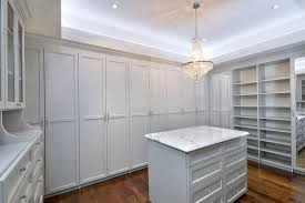 supreme elegance in this folkstone gray custom walk in closet