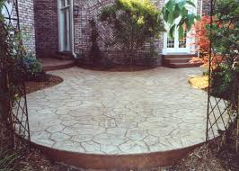 ... Magnificent Exterior Design Ideas In Decorating Fieldstone Patio Garden  Pictures : Wonderful White Stone Mosaic Tile ...
