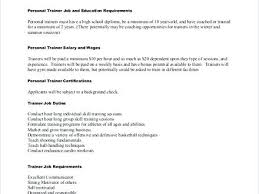 resume personal background sample resume description for personal trainer resume  educational background sample philippines