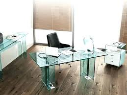 office desk glass top. Glass Top Office Desk Tables Tempered Boss Table Commercial