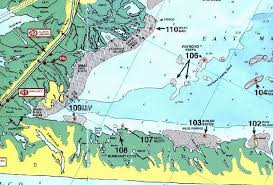 A Look At East Matagorda Bay Map Of East Matagorda Bay