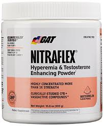 testing gat clinically tested nitraflex testosterone enhancing pre workout watermelon 300 gram