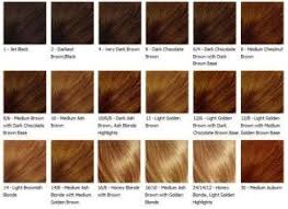 Clairol Hair Dye Color Chart Clairol Hair Colors Clariol Hairdye Color In 2019 Brown