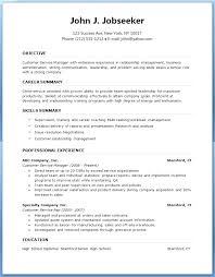 Executive Resume Template Free Word Excel Format Download Cv