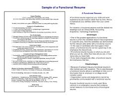 Awesome Resume Types Chronological Functional Combination Targeted