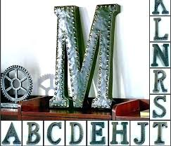 vintage metal wall letters large metal letter vintage large metal letters large metal letters metal wall
