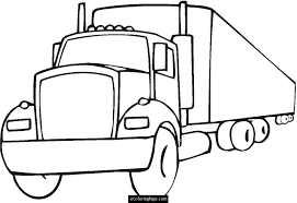 Small Picture Luxury Semi Truck Coloring Pages 57 With Additional Free Coloring