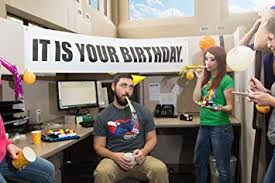 Office Birthday Amazon Com It Is Your Birthday Banner The Office Banner From The