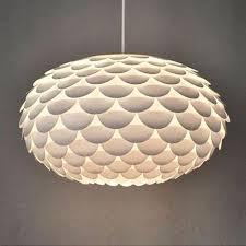 funky bedroom lighting. modern funky retro style white artichoke ceiling pendant light lamp shade lights bedroom lighting