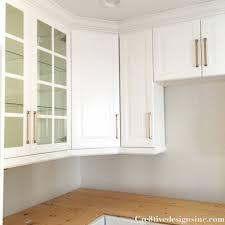 ikea glass kitchen cabinet