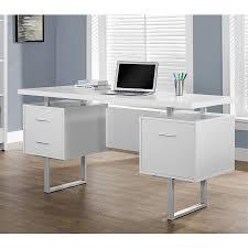modern desks with storage