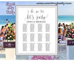 Rustic Wedding Seating Charts Modern Wedding Seating Plan 024w