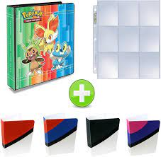 Buy Assortmart Ultra Pro Pokemon 3-Ring Binder with Mini Binder Album Set  of 4 Poke Ball Great Ball Ultra Ball and Master Ball + 25 9-Pocket Pages  (XY) Online in Turkey. B07579FFZ8
