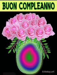 Se il festeggiato ama la natura probabilmente l augurio di buon compleanno in una immagine o una frase con fiori li regalerà tanta gioia e buonumore. Gif Di Compleanno Con Fiori In Vaso