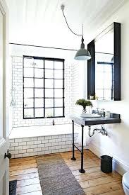 modern bathroom subway tile. Bathroom Subway Tile Industrial And Mid Century Modern With Tiles On The Walls O
