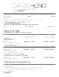 Simple Resume Format Free Download And Easy Resume Samples