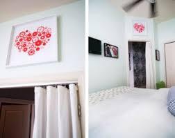 bedroom door curtains