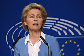 Her father ernst albrecht worked as one of the first european civil servants from the establishment of the european commission in 1958, first as chef de cabinet to the european commissioner for competition. First 100 Days In Office For Von Der Leyen Commission Many Promises Lots Of Bureaucracy Europenow