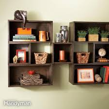 square wall mounted shelves gallery