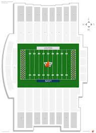 Precise Navy Stadium Seating Chart Navy Marine Corps