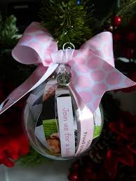 Babys first christmas ornament, Birth announcement, Baby shower ...
