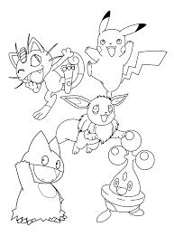 Kleurplaat Tv Series Kleurplaat Pokemon Diamond Pearl Animaatjesnl
