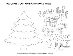 Free Printable Craft Templates Christmas Tree Template Diy Box
