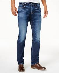 Hudson Jeans Hudson Stretch Jeans Men's Byron Straight-Leg Stretch Jeans &  Reviews - Jeans - Men - Macy's