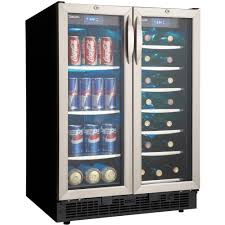 danby silhouette wine cooler.  Silhouette Amazoncom Danby DBC2760BLS 50 Cu Ft Silhouette Beverage Center   BlackStainless Appliances Inside Wine Cooler E