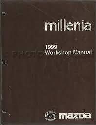 mazda millenia wiring diagram supplement original 1999 mazda millenia repair shop manual original 119 00