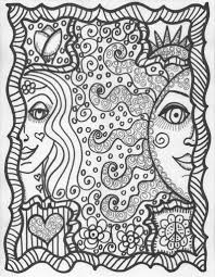 Small Picture Perfect Hippie Coloring Pages 62 In Coloring Pages for Kids Online