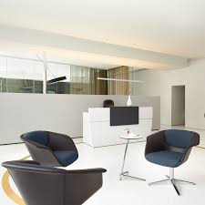 sweetspot laptop table and lounge chairs in reception
