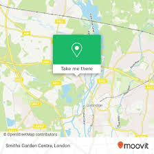 how to get to smiths garden centre in