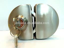glass door knob with lock captivating glass door knob with lock km stainless steel glass door