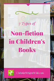 types of non fiction in children s books