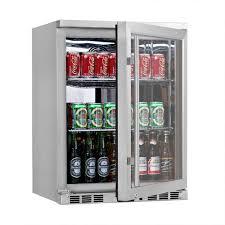 Undercounter Beverage Refrigerator Glass Door 24 Undercounter Glass Door Refrigerator Shop Coolers