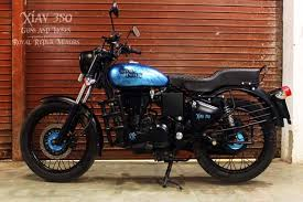 royal enfield electra 350 modified by