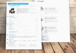Free Creative Resume Luxury Resume 42 Beautiful Template Full Hd