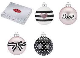 Weihnachtskugeln Rosa Love Mix 4er Set 8cm Christbaumkugeln