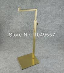 Steel Stands For Display Simple type stainless steel metal bag display stands Removable 33