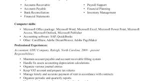 Accounts Payable Resume Cool Examples Of Accounts Payable Resumes Resume Tutorial Pro