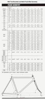 Trek Mountain Bike Frame Size Guide Oceanfur23 Com