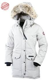 Canada Goose Trillium Parka White For Women Clearance Online
