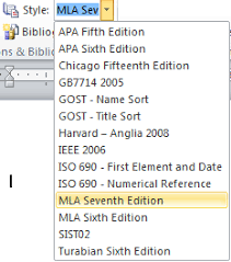 mla apa chicago microsoft word formats bibliographies for you  image of supported citation styles