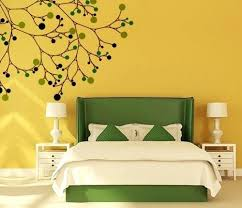 Bedroom Wall Painting Ideas Custom Yellow Wall Decor For Bedroom When It Comes To Bedroom Wall Painting