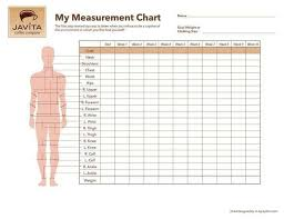 Weight Measurement Chart Printable Pin On Bullet Journals